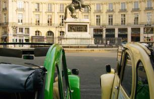 Tour of the Must-See Sites in Paris in a 2CV + Priority-Access Tickets for the Louvre