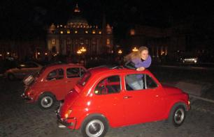 Rome by Night in a Fiat 500 Convoy