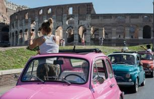 Tour of Rome in a Fiat 500 & Eataly Visit