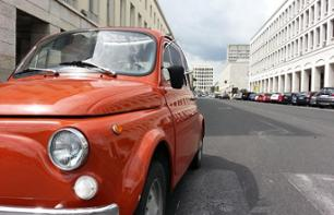 Private Tour of Rome in a Fiat 500 + Wine Tasting Session