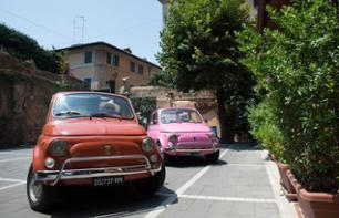 Excursion from Rome in a Fiat 500 to Villa d'Este in Tivoli