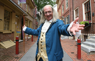 Themed Walking Tour:  follow in the footsteps of Franklin in Philadelphia