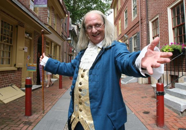 Visite thématique : sur les traces de Benjamin Franklin à Philadelphie – balade à pied - Philadelphie - Ceetiz