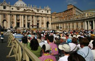 Audience with the Pope in the Vatican