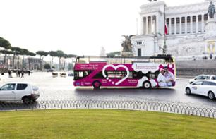 Hop-on, Hop-off Bus Tour of Rome – 24-hour pass