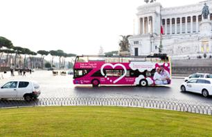Pass trasporti 48 ore: Visita di Roma in bus imperiale a fermate multiple