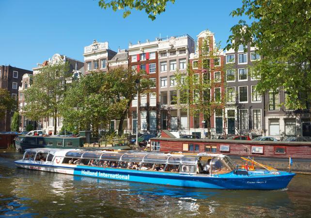 Pass croisière sur les canaux d'Amsterdam- 1 ou 2 jours - Amsterdam -