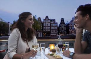 Romantic Candlelit Cruise Along Amsterdam's canals