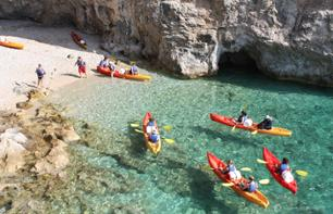 Session de Kayak sur la mer Adriatique à Dubrovnik