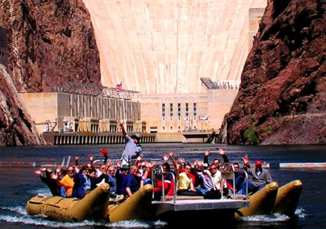 Rafting sur le fleuve Colorado et visite du barrage Hoover – VIP Tour - Las Vegas -
