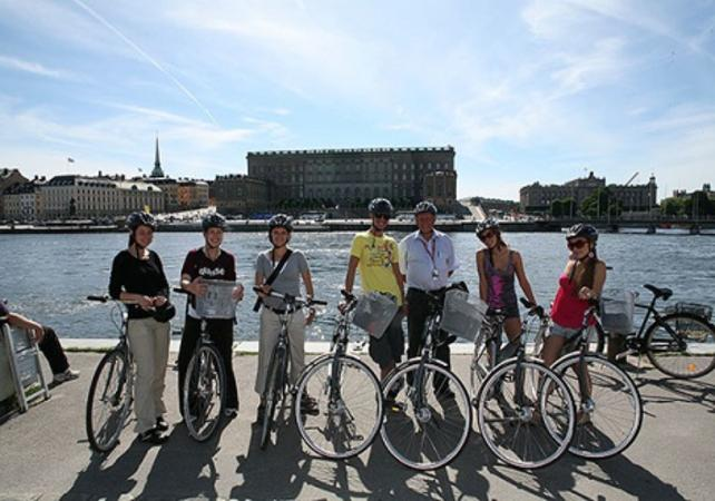 Photo Visite guidée de Stockholm en vélo