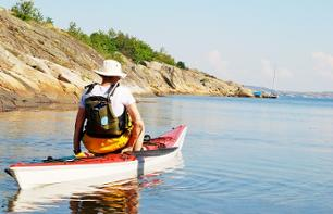 Day of Kayaking on the Stockholm Archipelago