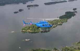 Helicopter Flight over Stckholm City & Archipelago