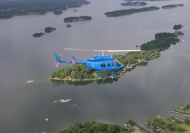 Photo Survol de Stockholm et son archipel en hélicoptère