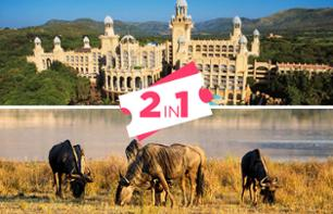 Safari in the Pilansberg Game Reserve and tour of the Sun City Resort – Private tour