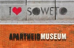 Guided tour of Johannesburg, Soweto Township and the Apartheid Museum – Private tour