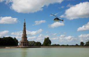 Helicopter Flight above the Loire Valley and Surrounding Châteaux