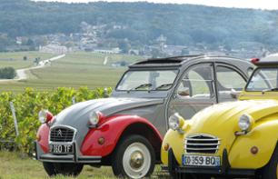 Short circuit vineyards and heritage by 2CV with cellar visit