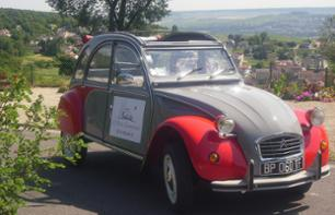 Long circuit vineyards & Reims heritage by 2CV with cellar visit