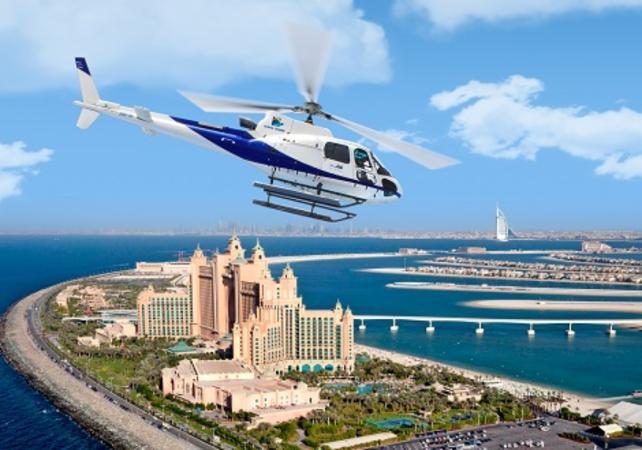 Photo Survol de Dubaï en hélicoptère