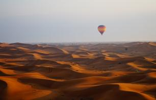 Hot air ballooning in Dubai: sunrise flight over the desert
