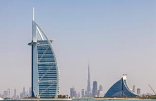 Best of Dubai - tea tasting in the Burj Al Arab hotel and visit to the Burj Khalifa Tower