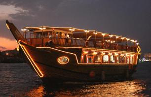 Cruise by Abra Boat through the Historic Heart of Dubai – Hotel pick-up/drop-off