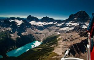 Helicopter Flight over the Canadian Rockies – Departing from Canmore