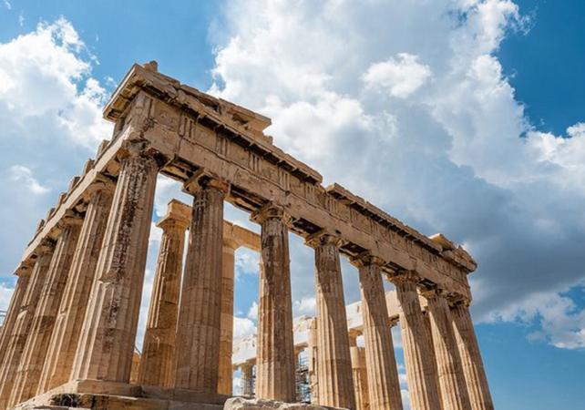 Photo Visite guidée de l'acropole sur le thème de la mythologie grecque – Parthénon