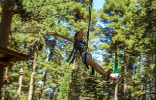 Adventure Park Ticket - Tree Climbing - La Molina in the Spanish Pyrenees - 2 hours from Barcelona