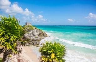 Excursion to Tulum: Tour of the Xel-Ha Park and Swim with Dolphins – Departing from Cancun