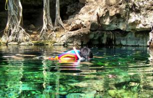 Excursion to Tulum: Subterranean Swimming and Free Time in Playa del Carmen – Departing from Cancun