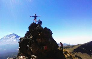 Hike along the Paths of the Ixtaccihuatl Volcano