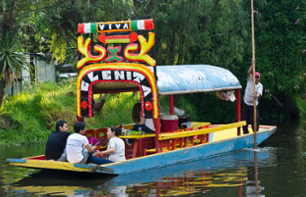 Cruise to the Floating Gardens of Xochimilco and Discover the Works of Frida Kahlo