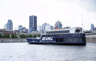 Day trip to Montreal with Cruise on the Saint Laurent River - Departure from Quebec