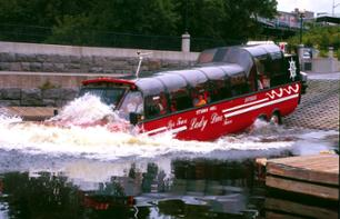 Unusual Tour of Ottawa and Gatineau by Amphibus – Land and water tour