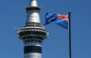 Auckland Sky Tower visit - Entry to the summit