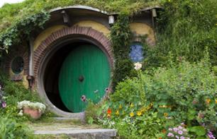 Hobbiton, the fictional village from Lord of the Rings