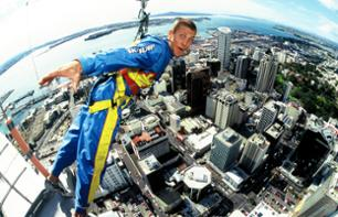100 % Adrenaline Tour : 360° Sky Tower walk + Jump