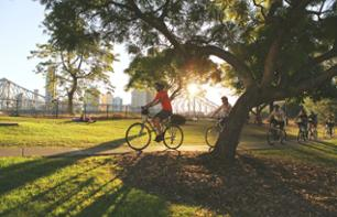 Guided Bike Tour of Brisbane & Picnic in the Park (optional)