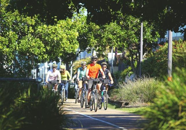 Visite guidée de Brisbane à vélo & pique-nique dans l'un des plus beaux parcs de la ville en option image 2
