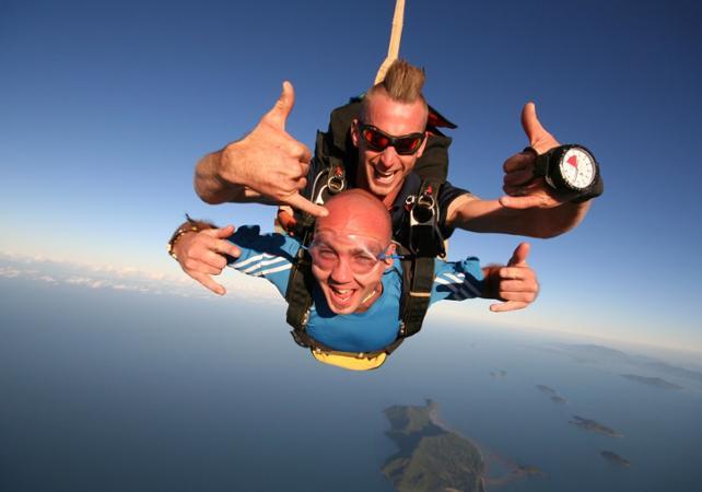 Saut en parachute à Brisbane image 4