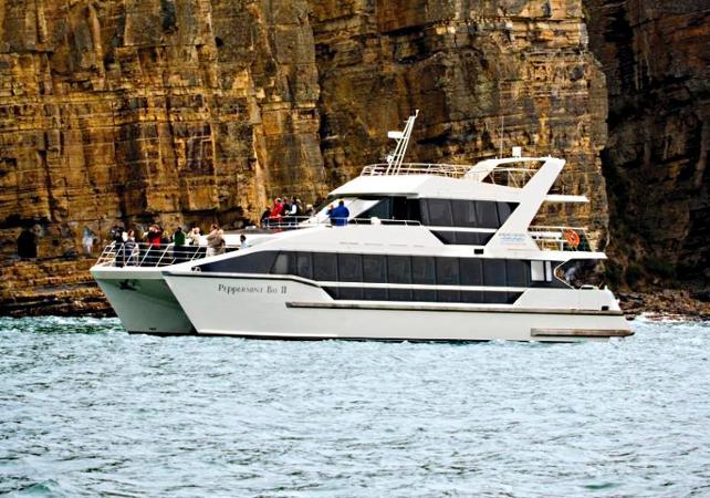 Déjeuner croisière dans la baie de Peppermint – Au départ de Hobart image 1