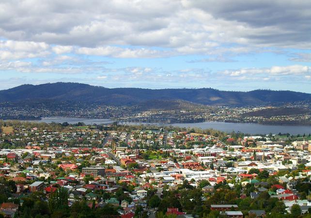 Hobart sites de tasmanie d couverte de hobart et ses for Le jardin richemond
