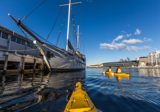 Balade en kayak avec guide à la découverte de Hobart – Déjeuner inclus image 3