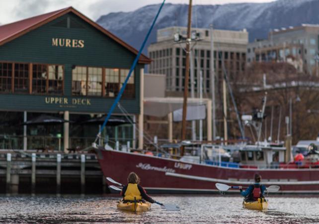 Balade en kayak avec guide à la découverte de Hobart – Déjeuner inclus image 5