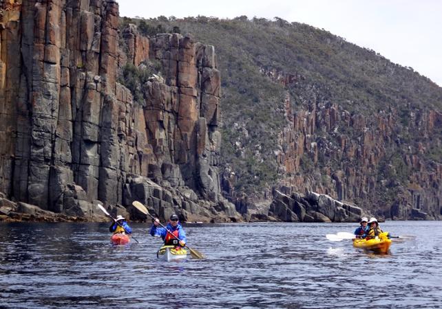 Excursion en kayak à la découverte de la presqu'île Tasman – Au départ de Hobart image 3