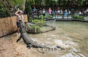 Visit to Hartley's Crocodile Adventures – Departing from Cairns