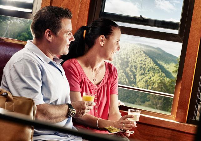 Billet pour le train panoramique de Kuranda – Trajet aller simple au départ de Cairns image 1