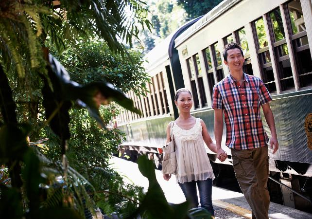 Billet pour le train panoramique de Kuranda – Trajet aller simple au départ de Cairns image 2